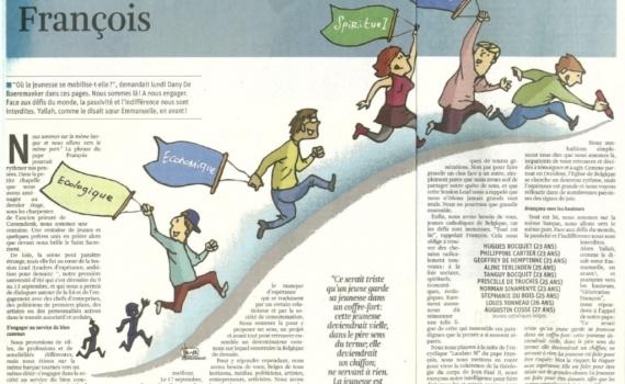 CARTE BLANCHE PUBLIÉE DANS LA LIBRE BELGIQUE 24/09/15
